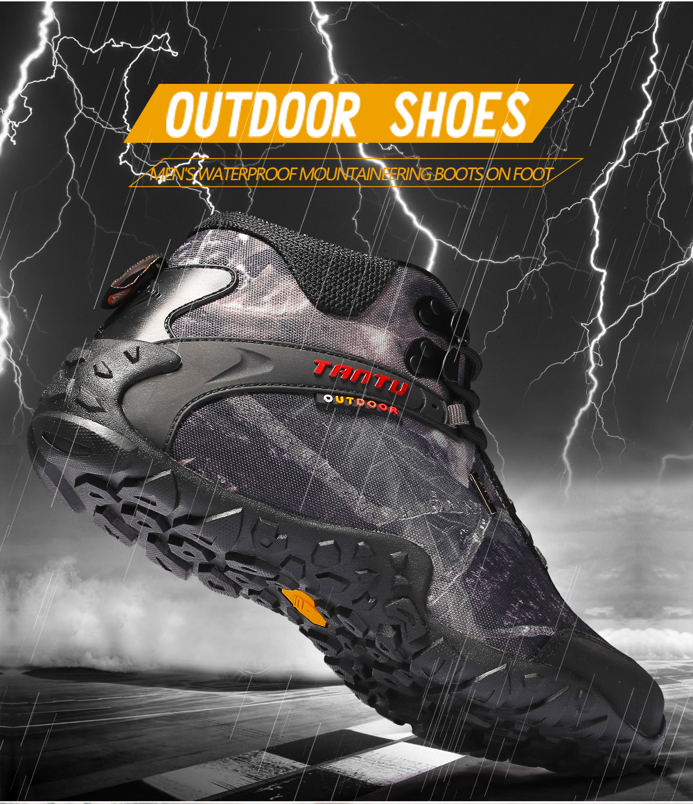 Outdoor Camouflage Tactical Sport Men\`s Shoes (3)
