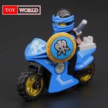 Hot Ninja JAY Compatível Com LegoINGlys Ninjagoes figuras Blocos de Construção de Tijolos Brinquedos para as crianças presentes zk2