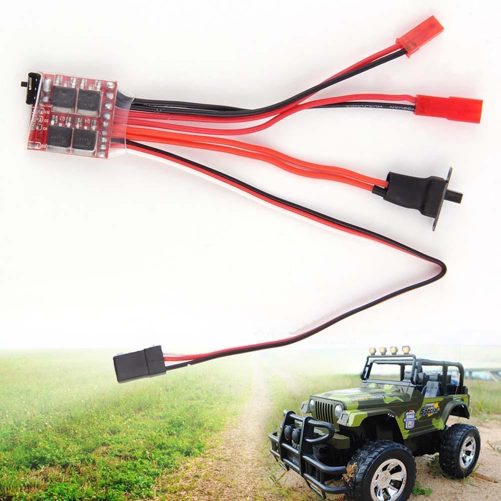20a Esc Brushed Motor Speed Controller With Brake For Rc