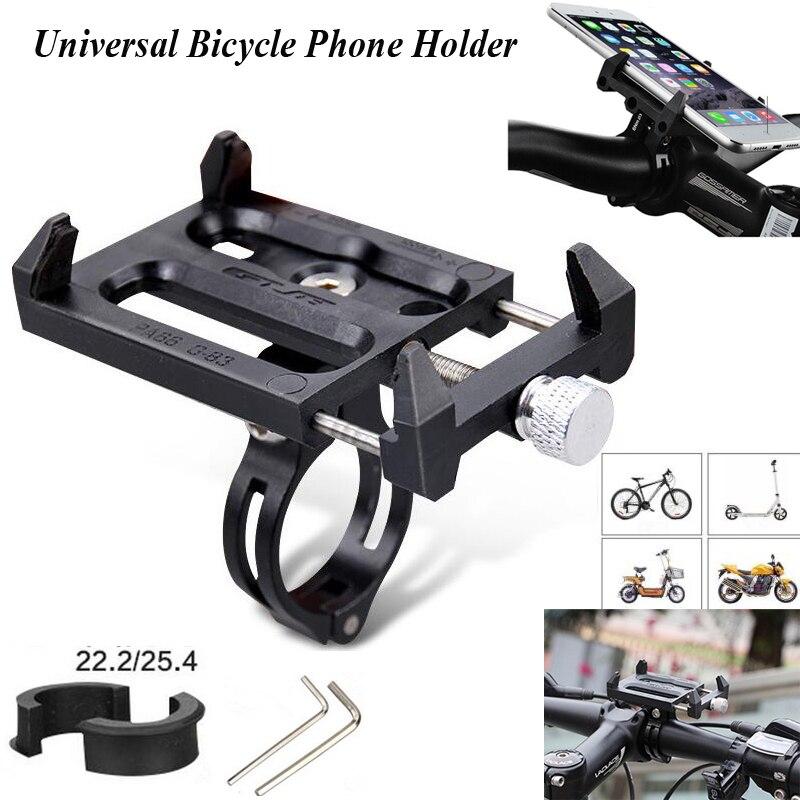 Universal Anti-Slip Fahrrad Telefon Halter Motorrad Elektrische Auto Halterung für Iphone Samsung Handy Auto Telefon Halter
