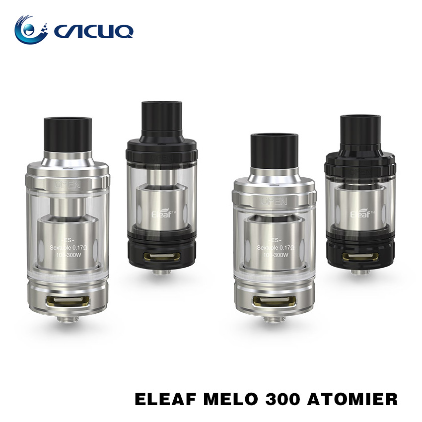 100 Original eleaf Melo 300 atomizer 3 5ml and 6 5ml capacity with ES Sextuple 0