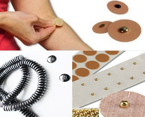 100pcslot Magnetic Acupuncture Therpy Plaster For Back Shoulder Pain Relief Magnet Treatment stickers Health Care