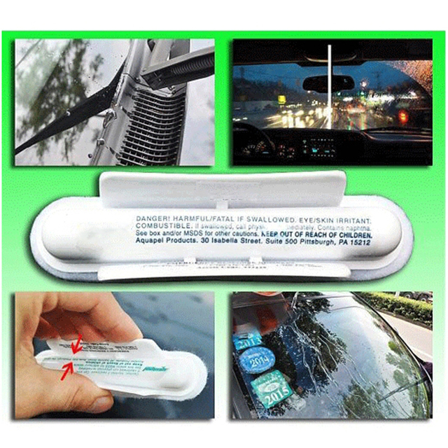 Aquapel Invisible Wipers for Car Window Glass