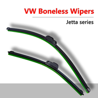 Wiper Blade For VW Jeta 07 08 to 15 frameless wipers silicone rubber blade soft car windshield windscreen Rubber Car Accessories