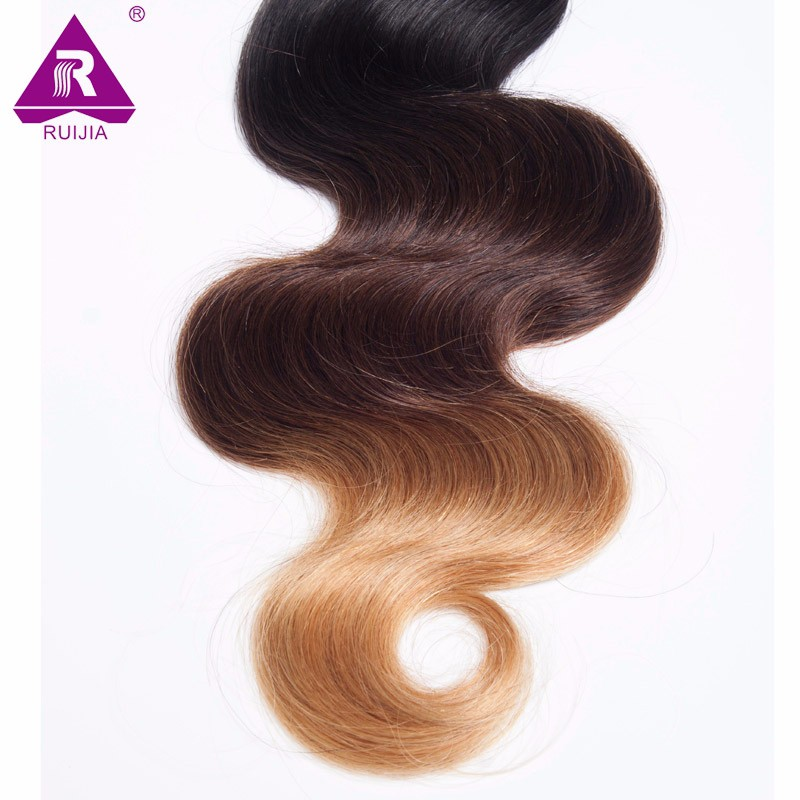 8A Grade Ombre Mongolian Body Wave Virgin Hair 3pcs Mongolian Ombre Hair Human Hair Weave Dark Brown 1B 4 27 Tissage Bresilienne (48)
