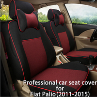 Legua Car Seat Cover Set for Fiat Palio (2011~2015)Car Seat Protector Automotive Car Styling Seat Interior Accessories for Auto