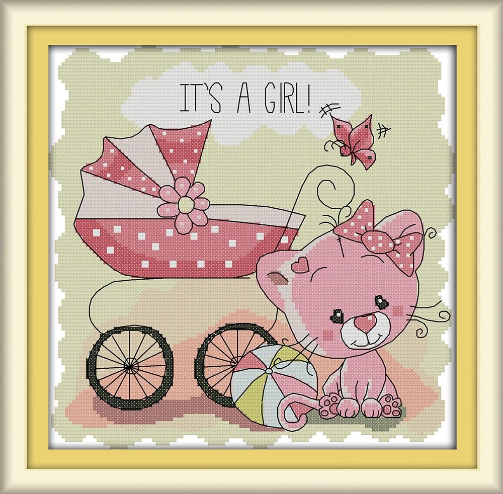 Детская коляска вышивка