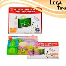 Circuito Integrado de 59 Proyectos de Construcción Bloques de Aprendizaje y Educación Juguetes para Niños de Aprendizaje de Física, LegoBlocks Herramientas Educativas