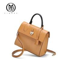 EIMORE 2019 New Women Bag Genuine Leather Women Messenger bag Luxury Designer Female Fashion Shoulder bags Real Leather Handbag цена