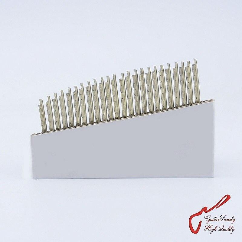 1 conjunto (24 peças) guitarfamily níquel-cobre liga traste fio para guitarra baixo 2.0mm/2.2mm/2.4mm/2.7mm/2.9mm/mm