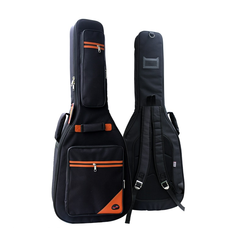 Большой деревянный Гитары сумка 41, 42, 43 дюймовый водонепроницаемый мешок фолк-гитара противоударные Чехлы защиты утолщение 42 дюймов Гитары ...