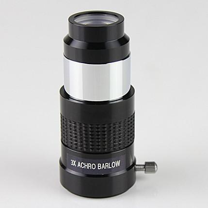 ФОТО Achromatic Barlow Lens 3x Multi Coated 125 barrel diameter