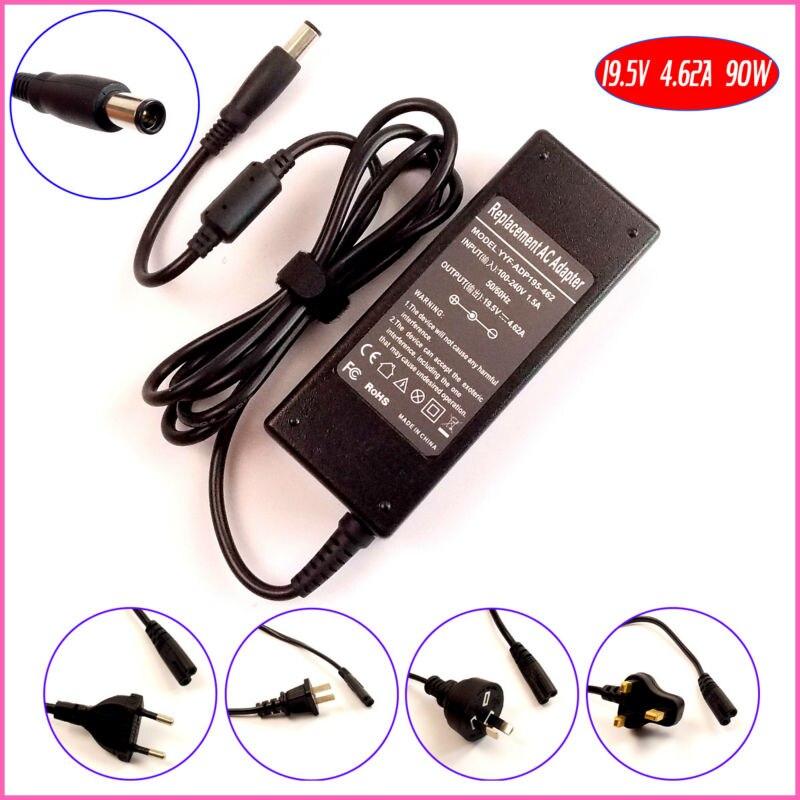 19,5 V 4.62A 90W адаптер переменного тока питания для ноутбука Зарядное устройство для Dell DA90PE1-00 DA90PE3-00 DA90PS0-00 DA90PS1-00 EA90PE1-OO HA90PE1-00