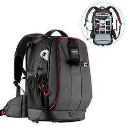 Neewer برو حافظة كاميرا مقاوم للماء للصدمات قابل للتعديل مبطن حقيبة الكاميرا حقيبة مع قفل مجمع مكافحة سرقة