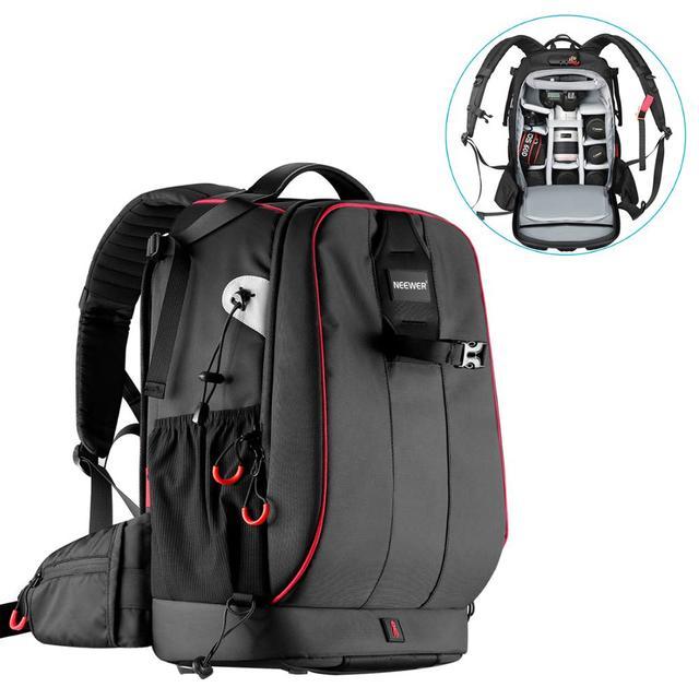 Neewer Pro чехол для камеры водонепроницаемый ударопрочный Регулируемый мягкий сумка рюкзак для камеры с противоугонным комбинированным замком