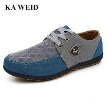 7cc97adcf63 Verão de 2017 homens Sapatos casuais sapatos de verão de lona dos homens  para os homens