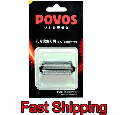 Fast Shipping 1 piece Replacement Shaver Head for p o v o s PS6108 PS5108 PS6106 PS6208 PS5106 Razor Blade Head outer foil