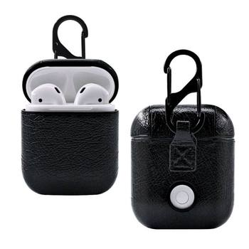 Retro Earphone Leather Case For Apple AirPods Wireless Bluetooth Earphone Luxury Protective Cover Storage Bag