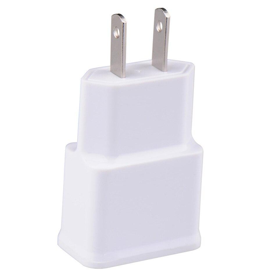 US plug Adapter 5V 2A/1A EU USB Wall <font><b>Charger</b></font> <font><b>phone</b></font> <font><b>charger</b></font> for Samsung <font><b>Galaxy</b></font> <font><b>S5</b></font> Note4 N9000 mobile <font><b>phone</b></font> <font><b>charger</b></font> CH129