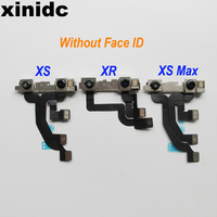 Xinidc 10pcs Original Front Facing Camera Module Flex Ribbon Cable For iPhone XS XR XS MAX Replacement Part Free DHL EMS