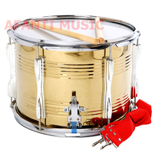 13 inch stainless steel Afanti Music High Snare Drum (AGS-009)