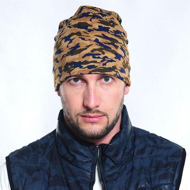 Polar caliente Camo Beanie Gorros Sombreros de Invierno Para Los Hombres  masculinos termales al aire libre 717fba3f0a9