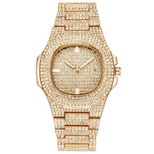 Fashion Rose Gold Women Men Watches Top Luxury Gold Couple's Quartz Watch Auto Date Calendar Wristwatch Rhinestone Clock Silver цена в Москве и Питере