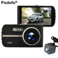 4 0 IPS Car DVR Camera Dual Lens Dash Cam Novatek 96658 Full HD 1080P With