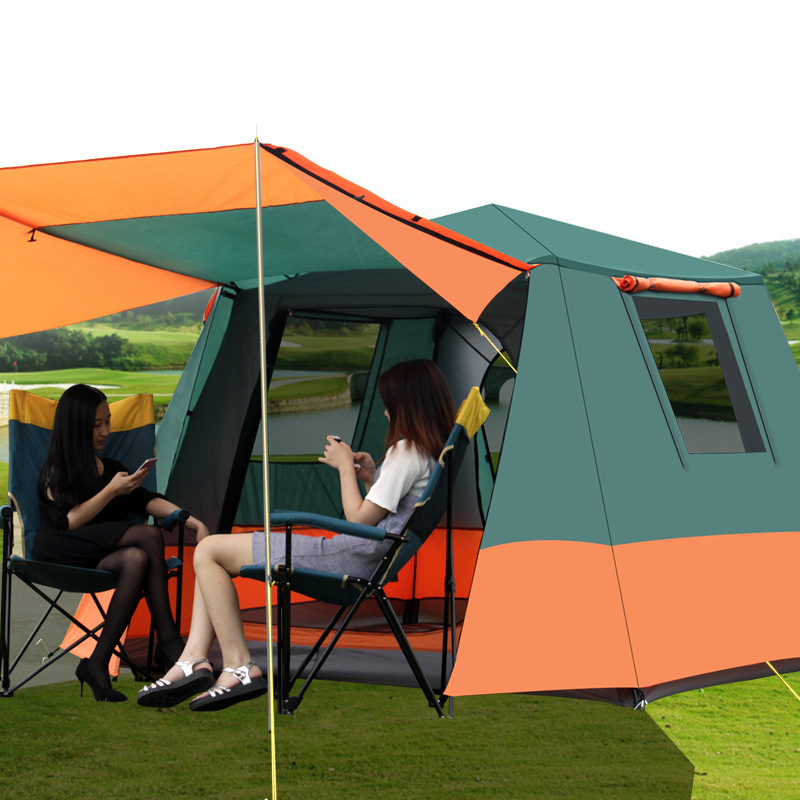 Grntamn Outdoor automatic 3 4 wild beach camping family ...