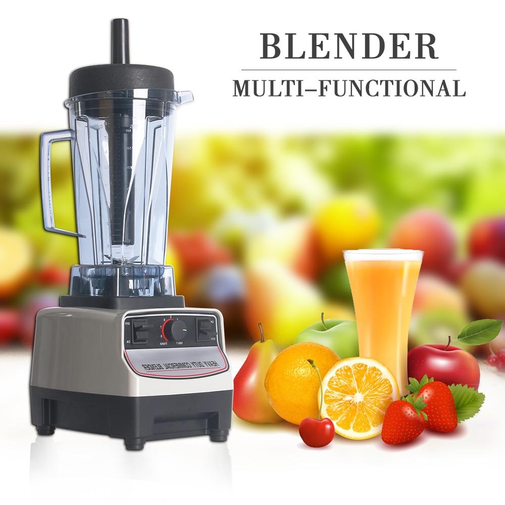 ITOP Heavy Duty Professional Blender Machine Commercial Smoothies Blender Juicers Fruit Food Processors BPA Free EU/US/UK Plug цена и фото