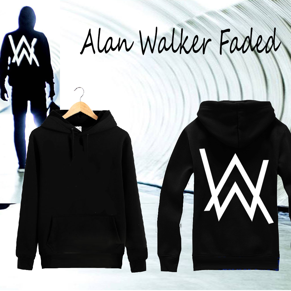 COOL Hiphop Men Hoodies Music DJ Divine Comedy Alan Walker faded Coat the Same Paragraph Sweatshirts