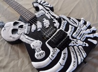 2018 Firehawk Custom Shop Skull Electric Guitar High Quality Best Selling, Rosewood Fingerboard High Quality Free Shipping.