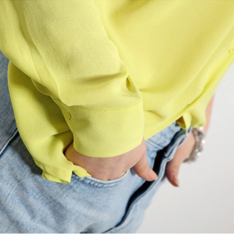 HTB1gRKoPFXXXXclXpXXq6xXFXXXf - Summer Fashion Girl Chiffon Blouse Casual Long Sleeve Shirt