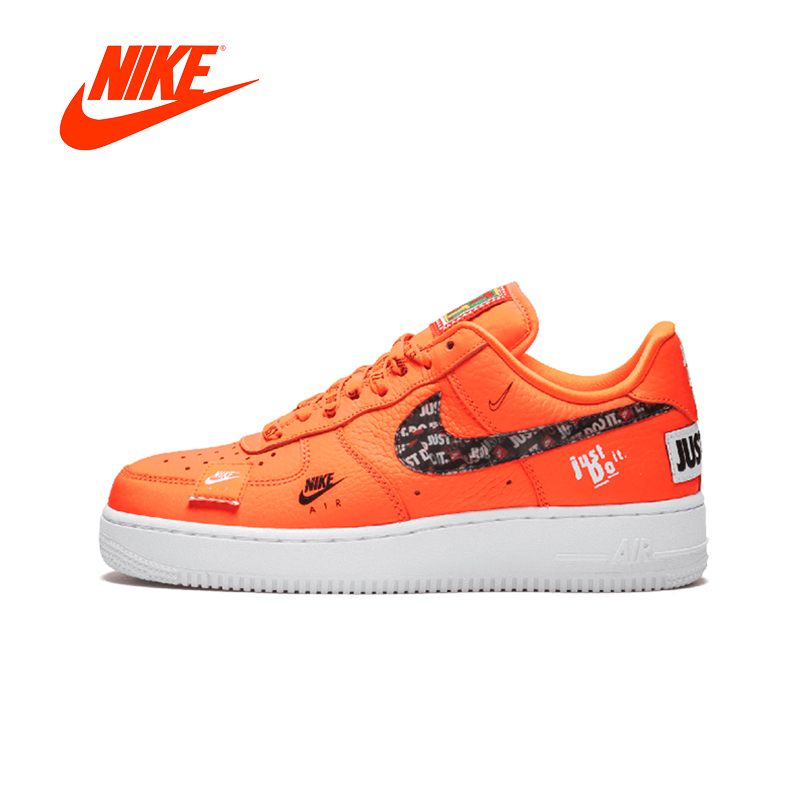 Original New Arrival Authentic Nike Air Force 1 '07 Just Do It Af1 Women's Skateboarding Shoes Sneakers Good Quality AR7719-800 original new arrival authentic nike air force 1 low just do it women s skateboarding shoes sneakers good quality 616725 800