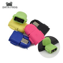 Multi Color Micro USB OTG Adapter Connector For Android Smartphones for Laptop Hug Converter New style And Mini OTG