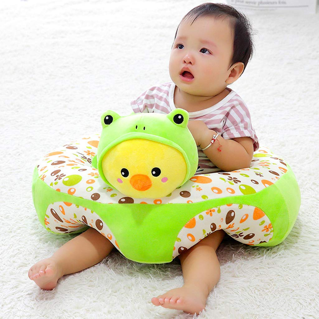 Baby Seats Sofa Plush Chair Soft Support Seat Nursing Anti Rollover Cushion  Learning Sit Toys For Children Toddler Kids