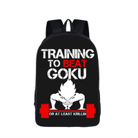 Boys Girls Backpack Anime Dragon Ball School Bags For Teenagers Kids Super Saiyan Sun Goku Backpack
