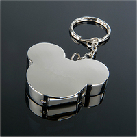 The High Quality Metal Mickey U Disk 2G 64G Stainless Steel Cute Mickey Mouse USB Flash