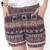 2017 HotSale Mulheres Bottoms Shorts 2 Cor Elefante Dos Desenhos Animados Impressão Elástico Na Cintura Solta Feminina Shorts B728518Y