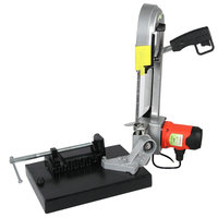 DLY 100 / 680W metal band saw woodworking band saw machine / mini Saw table saw / power tool cutting machine