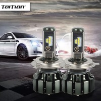 Taitian 2 Stks CSP Auto H4 Lamp 80 W 9600LM H1 H3 H7 H11 9005 9006 Canbus Auto LED Koplamp 12 V 24 V Truck Lamp 6000 K voor BMW