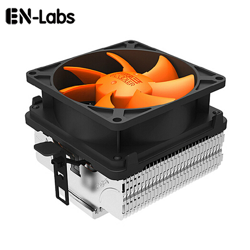 En-Labs Low Noise CPU Cooler w/ <font><b>80mm</b></font> Detachable <font><b>3pin</b></font> <font><b>Fan</b></font> for Intel LGA775 / LGA115X, for AMD 754/939 AM2 /AM2+/AM3 FM1/FM2 image