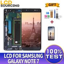 "5.7 ""pollici Display A CRISTALLI LIQUIDI Per Samsung Galaxy Note 7 LCD Touch Screen Digitizer Assembly Per La Nota 7 FE N930 n930F Display Sostituire"