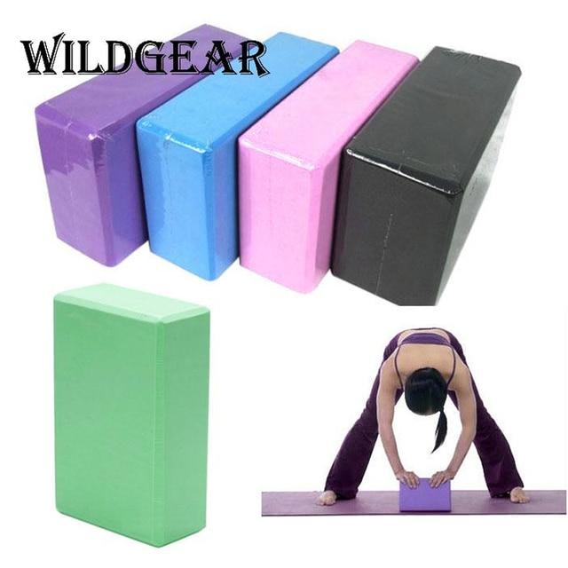 US $9 22 |Modern Design EVA Foam Pilates Yoga Brick Block Home Health Gym  Exercise Fitness Workout Stretching Aid Body Shape Health Tools-in Yoga