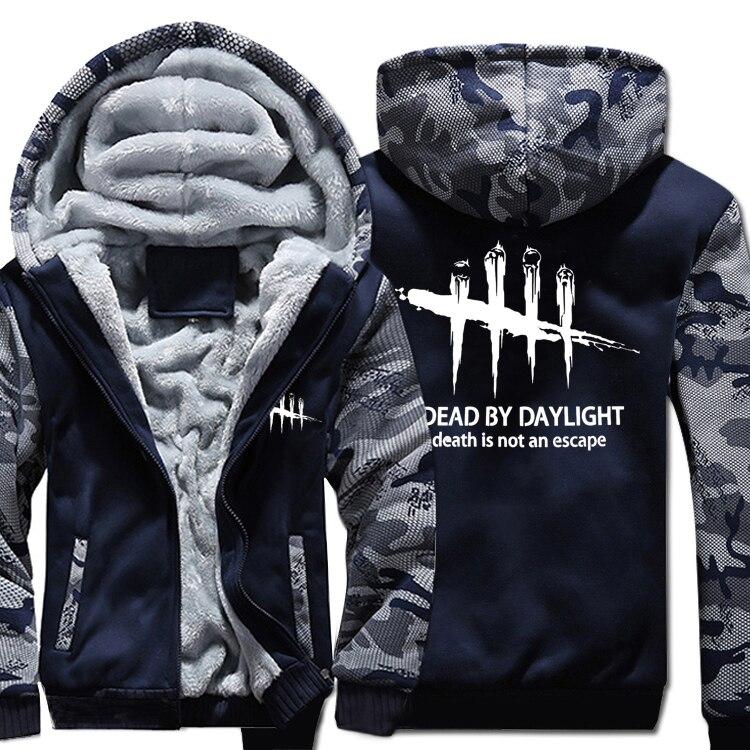 Anime Men s Thicken Hoodie The Rising of the Shield Hero Zipper Jacket Winter Warm Fleece