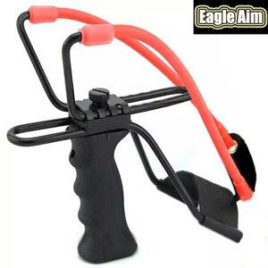 Image 1 - Proca profesjonalna z gumką i podpórka pod nadgarstek 2 kolory proca do polowania uchwyt ABS zewnętrzna strzelanka