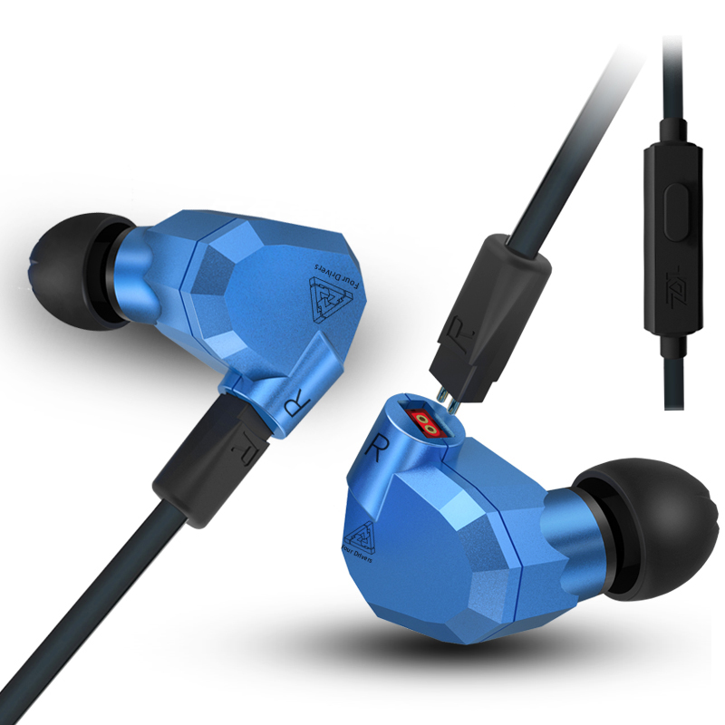 KZ ZS5 2DD+2BA Hybrid In Ear Earphone Monitor Running Sport Earphones hifi super bass earpiece Earplug Headset Earbud Switchable original senfer dt2 ie800 dynamic with 2ba hybrid drive in ear earphone ceramic hifi earphone earbuds with mmcx interface