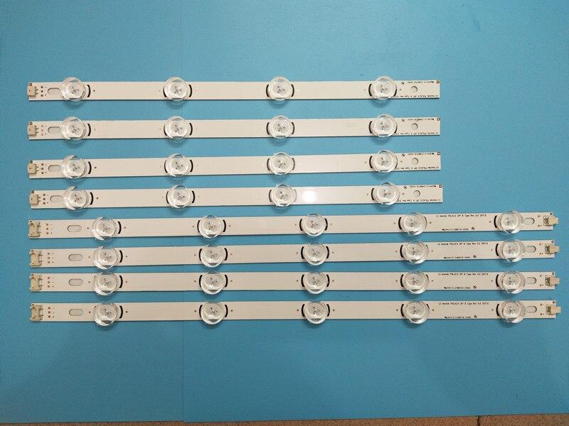 100 New 24 PCS LED backlight Strips Bars for LG TV 39LN540V 39LN570V 39LA620V innotek HC390DUN