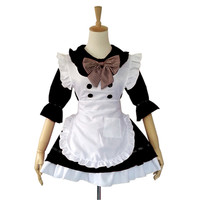 Plus Size high quality Sexy Maid Costume Halloween Costumes For Women Sweet Gothic Lolita Dress Anime Cosplay Sissy Maid Uniform