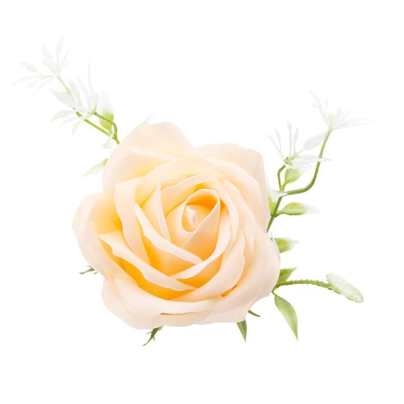 Креативная роза цветок мыло для путешествий мыльные хлопья лепесток тела Парфюмированное Мыло День Святого Валентина украшение для свадьбы подарок Лучшие - Цвет: Champagne